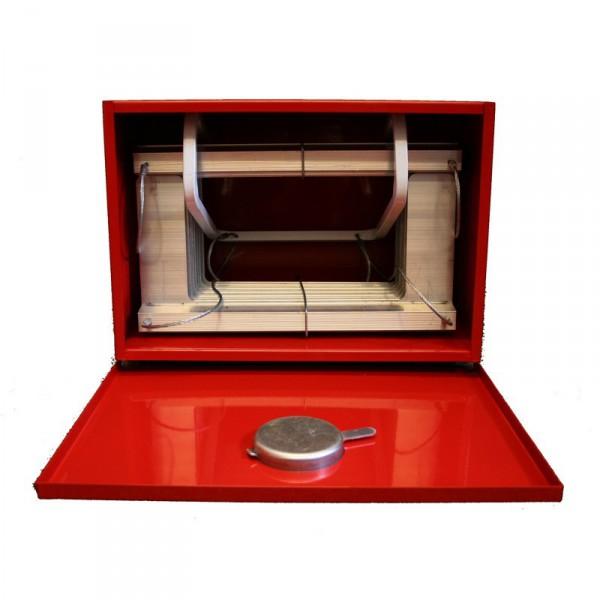 boite de rangement pour chelle de secours kletter fix. Black Bedroom Furniture Sets. Home Design Ideas