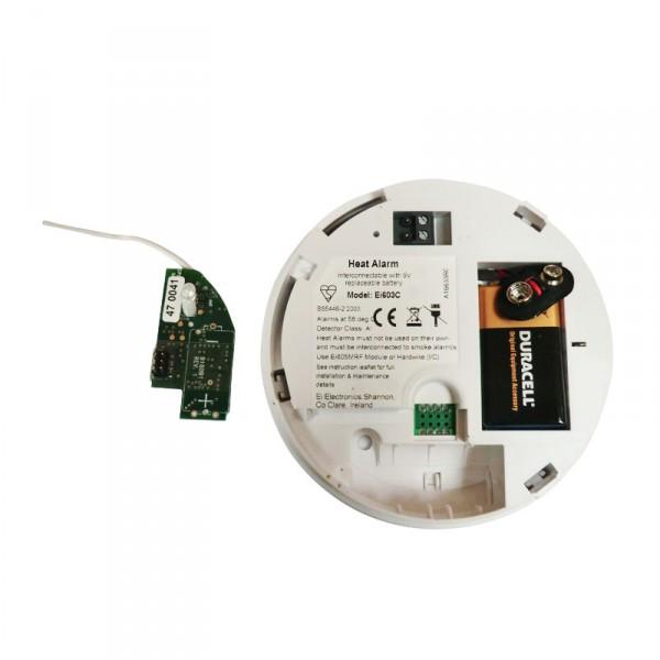 D tecteur de chaleur ei electronics ei603tycrf for Detecteur chaleur