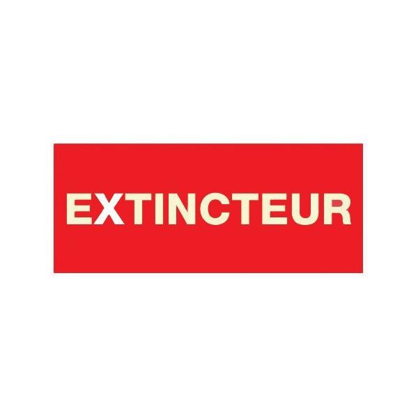 Panneau extincteur plexiglas 200 x 100mm - Panneau polyurethane 100 mm ...