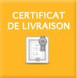 Certificat de livraison