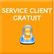 Service client gratuit