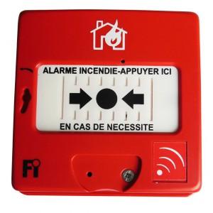 Déclencheur Manuel d'Alarme Radio