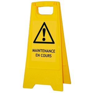 Chevalet « Maintenance en cours »