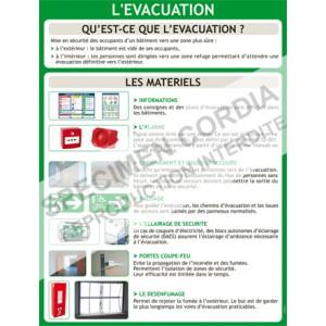 Evacuation : les matériels