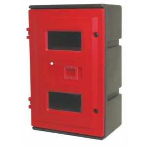 Armoire à clé pour 2 extincteurs de 6 Kg ou 9 Kg
