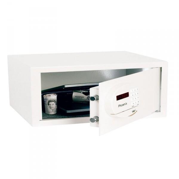 Coffre fort compact saracen phoenix ss0936e capacit 22 for Serrure pour coffre fort