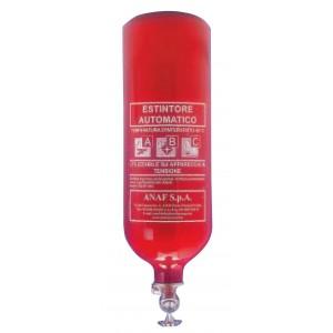 Extincteur automatique pendulaire à poudre ABC 2 Kg Anaf PS2-AT