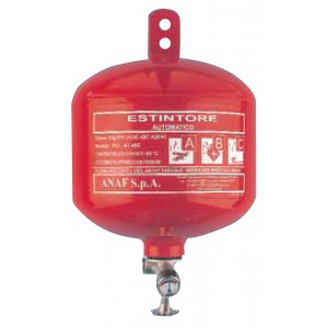 Extincteur automatique pendulaire à poudre ABC 3 Kg Anaf PS3-AT