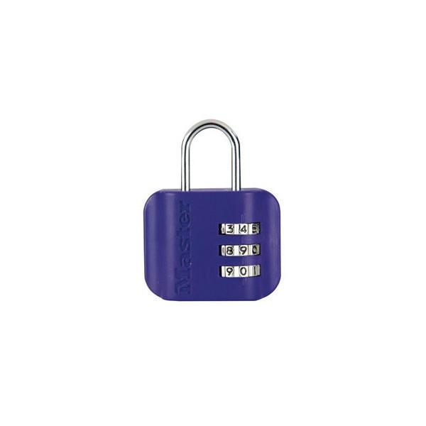 cadenas master lock 4670eurdcol en plastique abs. Black Bedroom Furniture Sets. Home Design Ideas