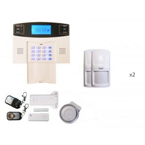 Alarme sans fils intrusion sur ligne téléphonique Adèle 2 à 3 pièces