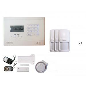 Alarme sans fils intrusion GSM Emma 3 à 4 pièces