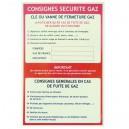 Consigne Sécurité gaz