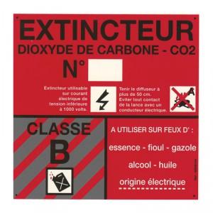 Panneau PVC Classe de Feu B 120 x 120mm