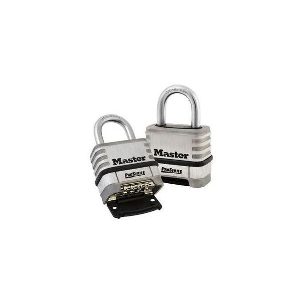 cadenas master lock 1174d en acier inoxydable. Black Bedroom Furniture Sets. Home Design Ideas