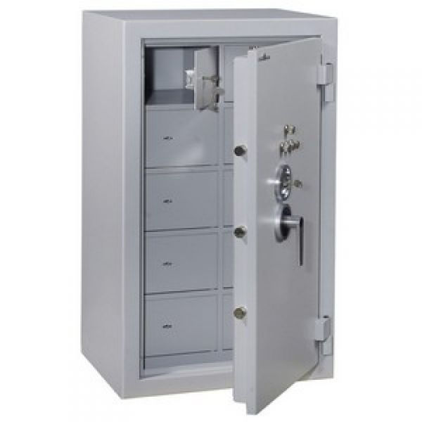 armoire forte hartmann compartiments protect 250/10 10 compartiments