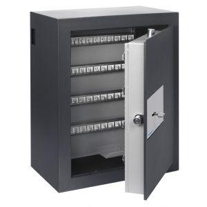 Armoire forte à clefs Chubbsafes Epsilon 120K capacité 128 clefs avec trappe de depôt et serrure électronique