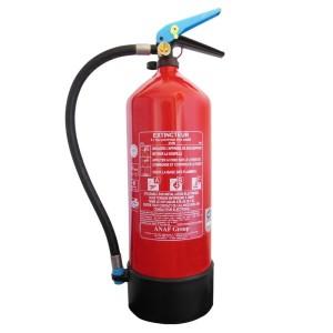 Extincteur à eau pulvérisée 6 Litres Anaf FS6-JF